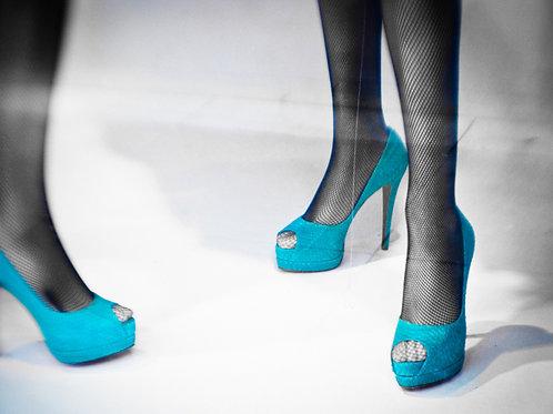 Aqua Stilettos