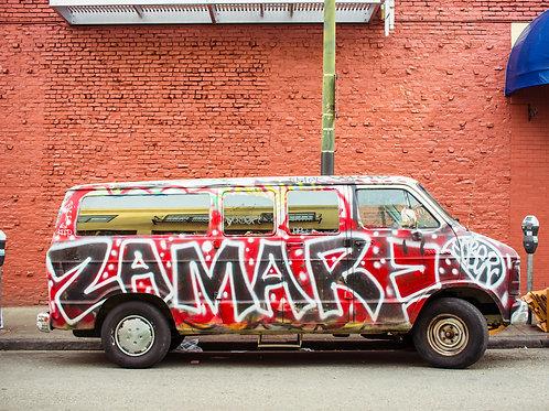 Graffiti Van in Philly