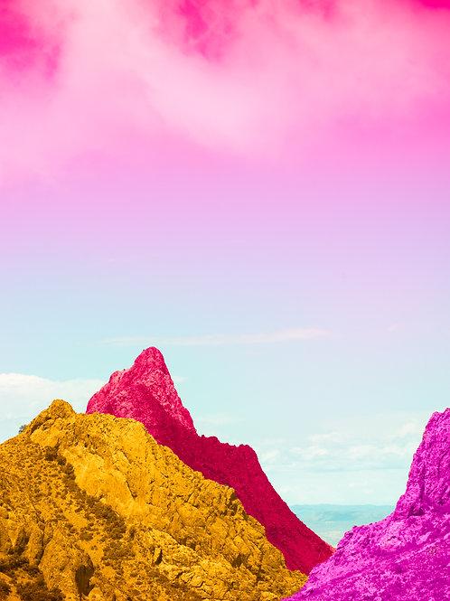 Chisos Basin Colors I