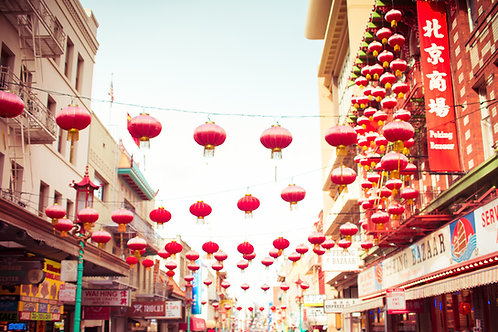 San Francisco Chinatown Afternoon I