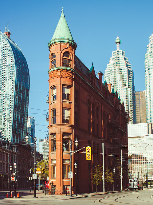 Toronto's Flatiron Building