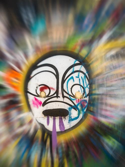 Hope Graffiti Face