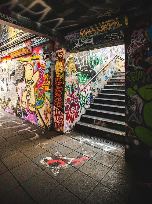 Leake Street Graff II
