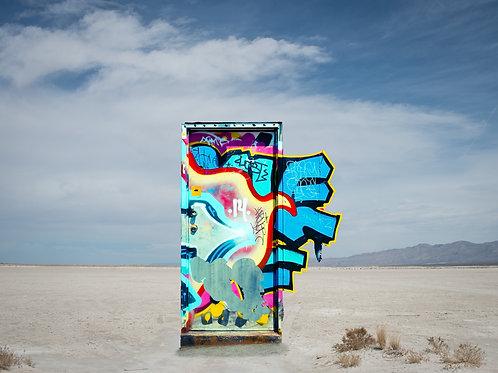 Salt Flat Graffiti II
