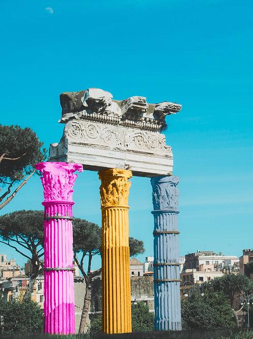 Tri Color Columns