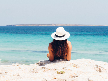 Summer, Sun, Sea, Sand is a B_ _ _h On Your Hair.