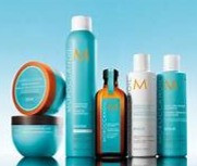 Moroccan oil at Blow Dry Bar