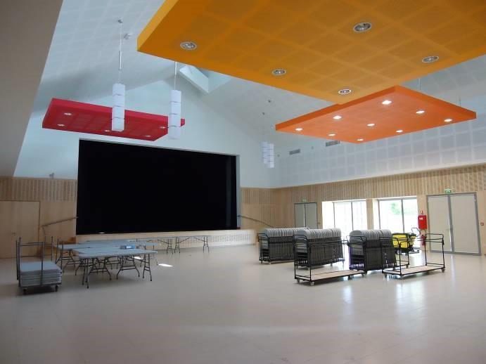 Salles de fêtes, sport, loisirs