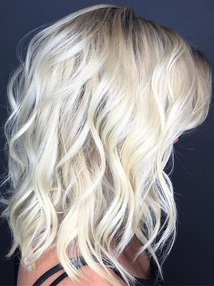 Healthy Icy blondes for winter 💜  Redke