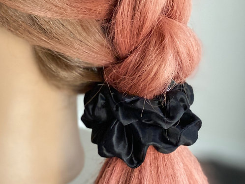 High quality 100% silk scrunchies