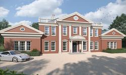 Mansion CGI