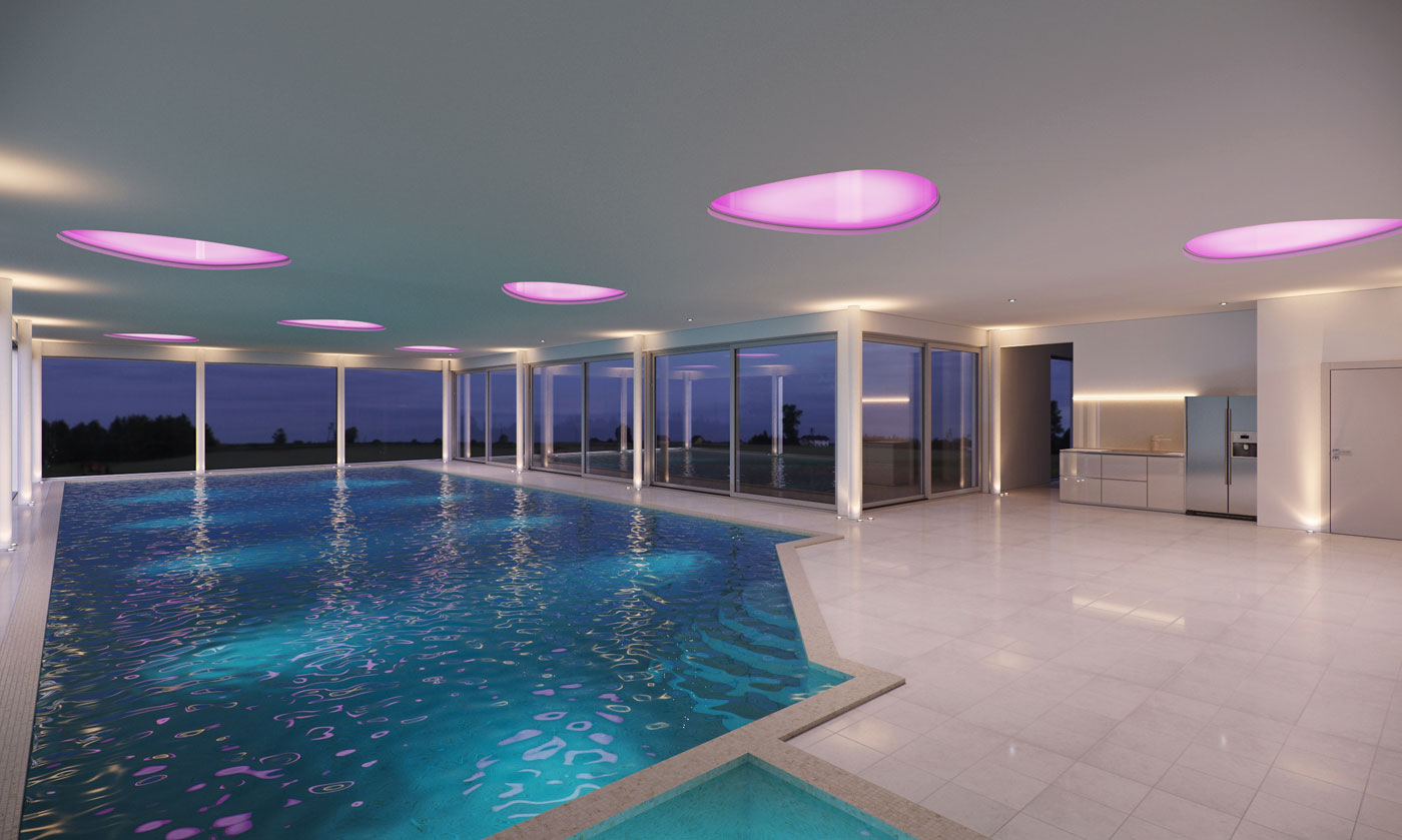 Swimming Pool Visualisation