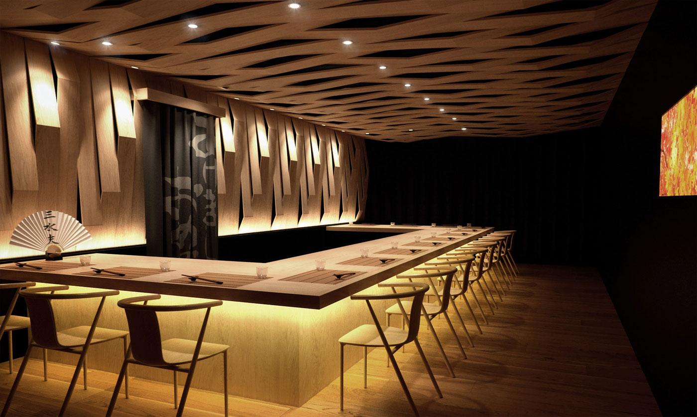 Sushi Bar CGI