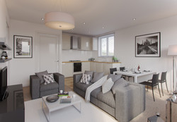 Living Room 3D Visualisation