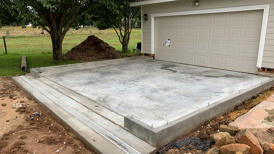 A New Concrete Pour over this Driveway