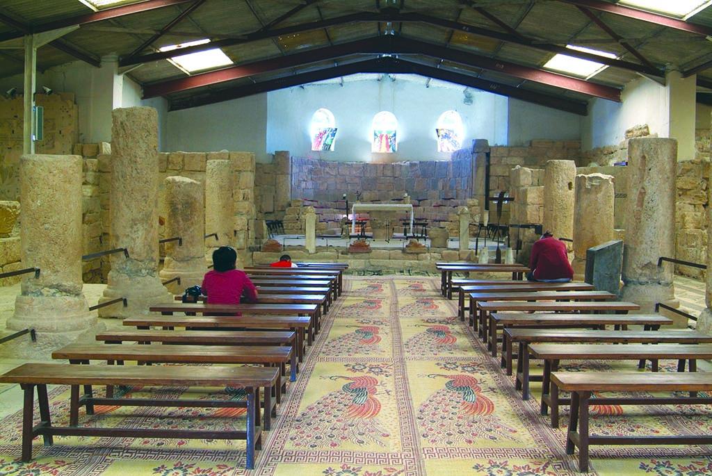 Mount Nebo church inside