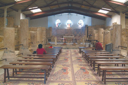 Inside the Church of Mount Nebo 2