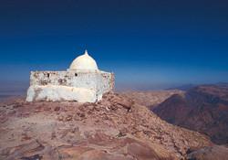Aaron's tomb in Petra