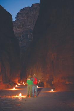 Picture of Al-Siq in Petra 1