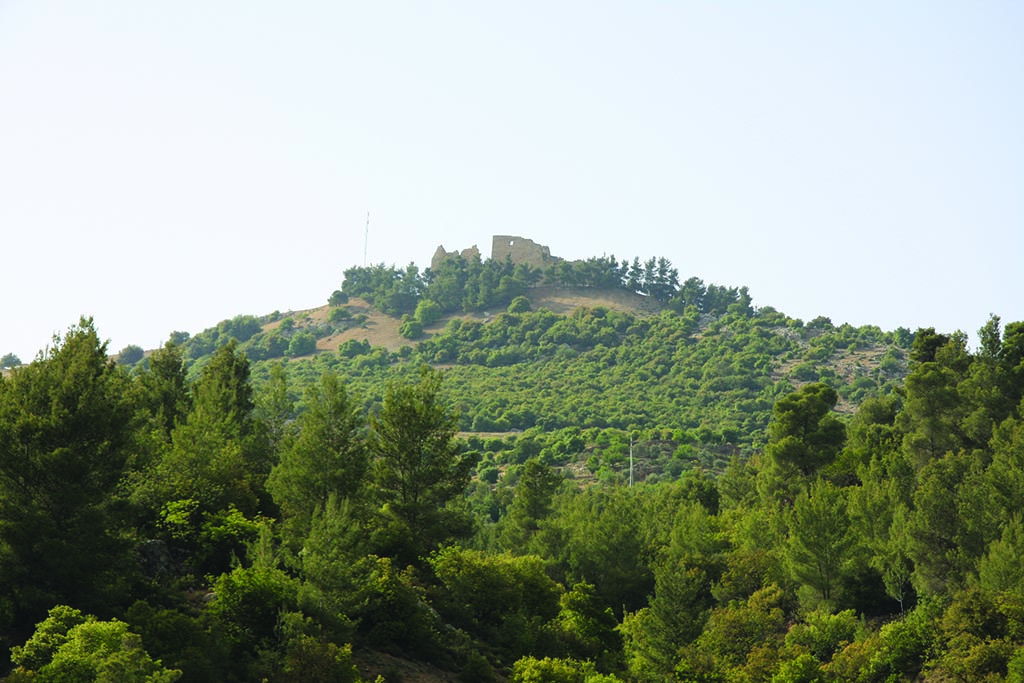Ajloun Castle from outside