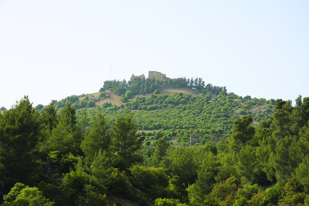 Ajloun Castle from outside