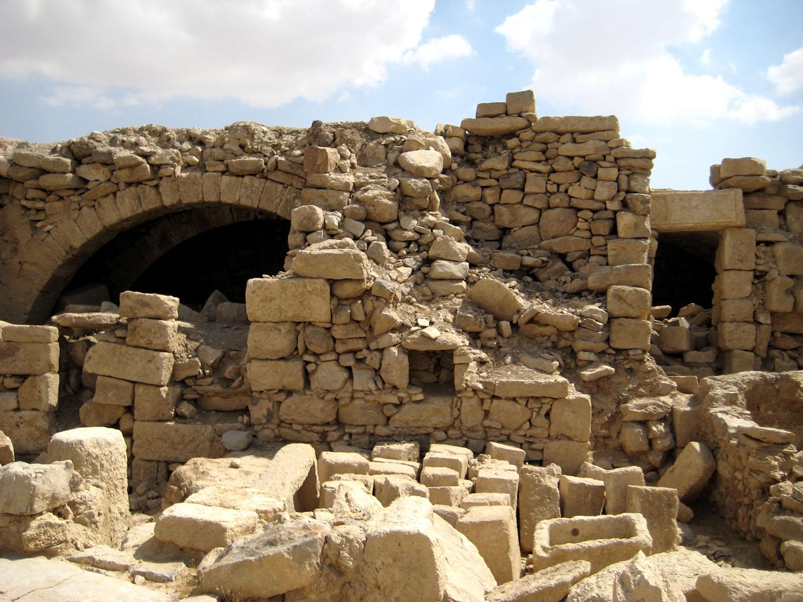 Umm Rasas House ruins