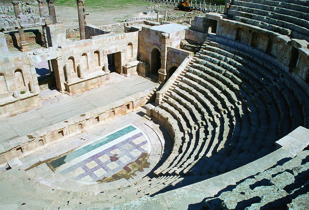 North Theatre of Jerash