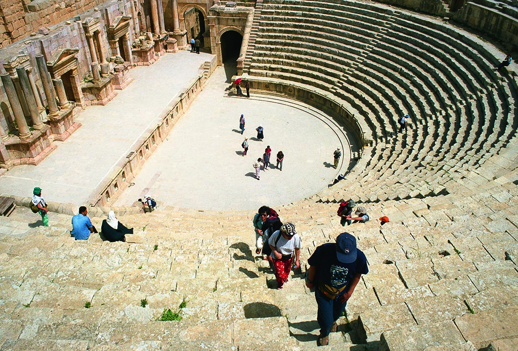 South Theatre of Jerash