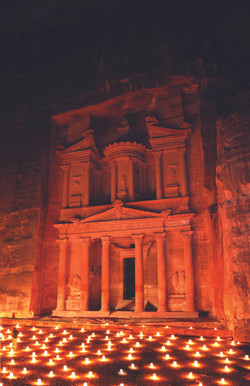 Picture of Petra by night 2
