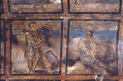 Qusayr 'Amra fresco