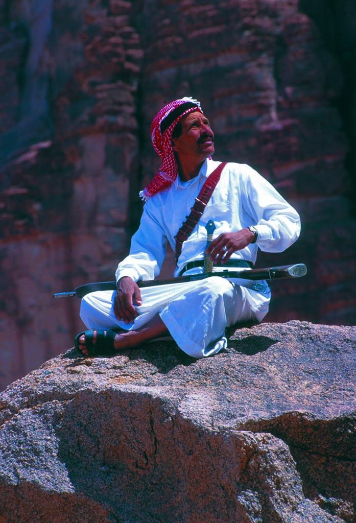 bedouin in Wadi Rum