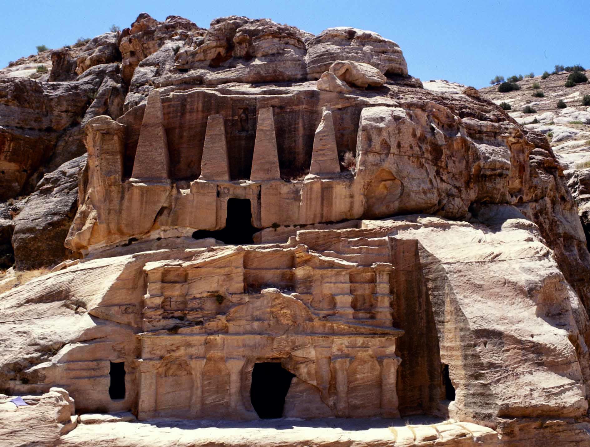 Obelisk Tomb in Petra