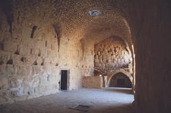 Hall in Ajloun Castle