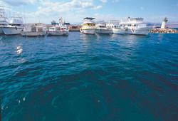 Boats in Aqaba