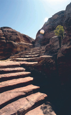 Stairs in Petra 2