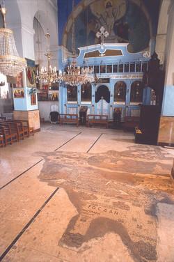 Mosaic on Apostles Church Floor