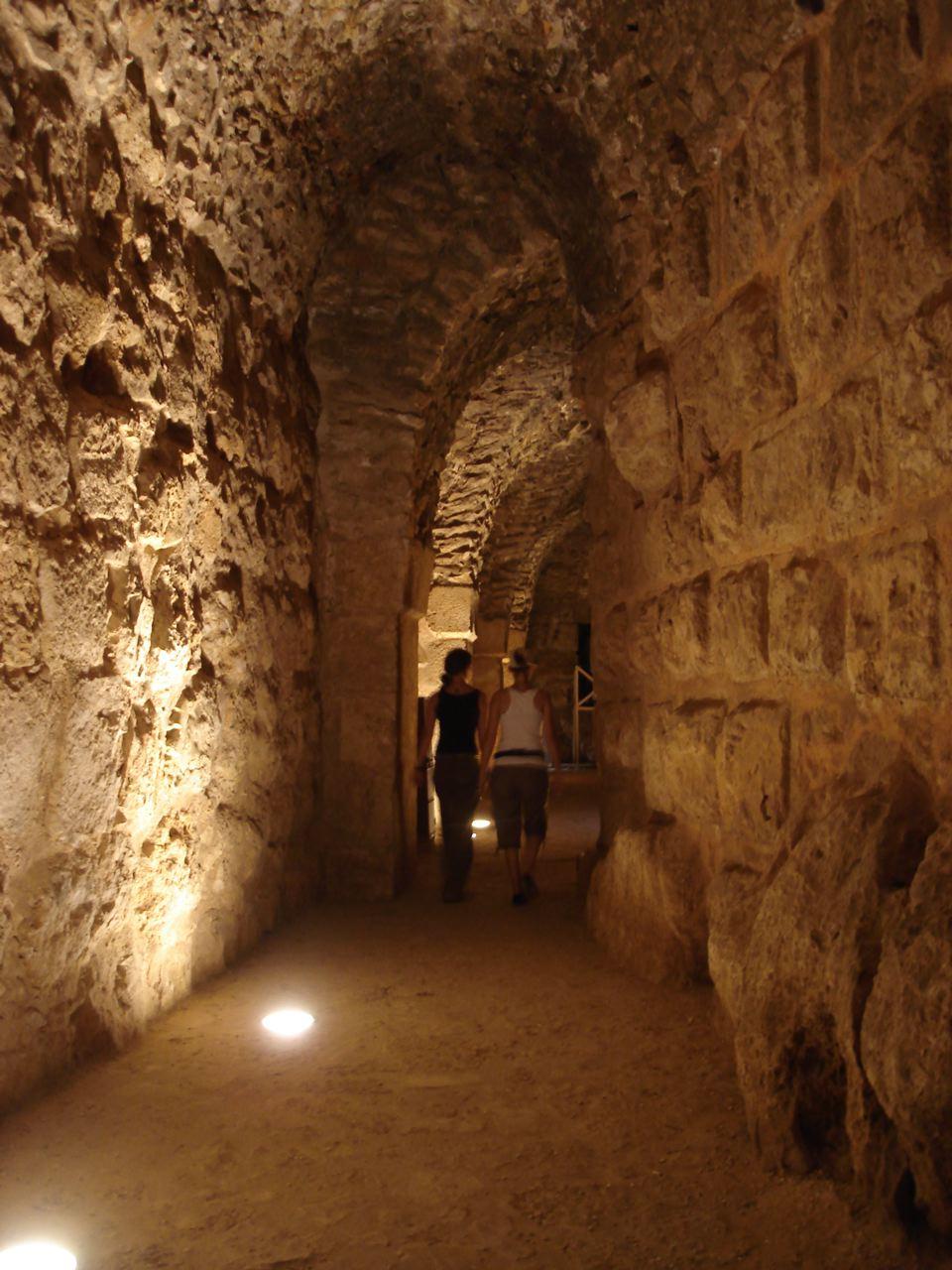 Ajloun Castle hall