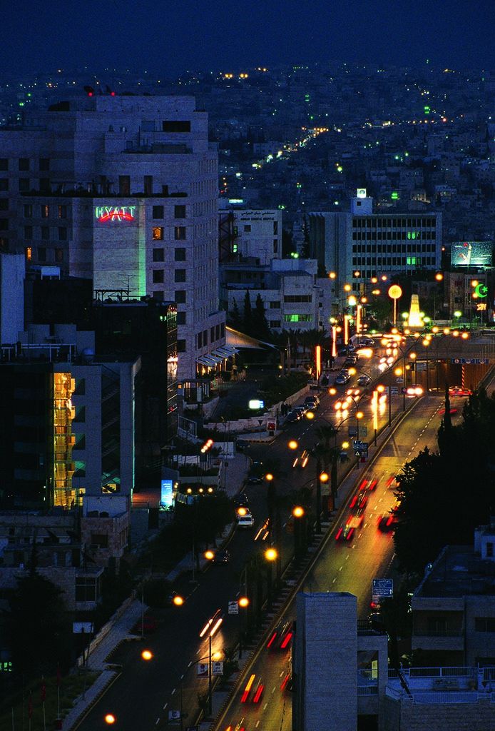 Amman by night