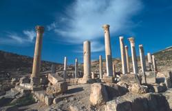 Colonnaded ruins of Pella 2
