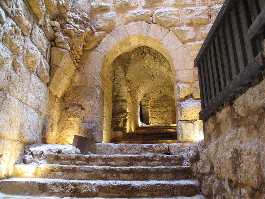 inside Kerak Castle