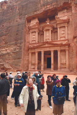Picture of the Treasury in Petra 4