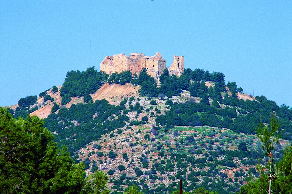 Outside View of Ajloun Castle