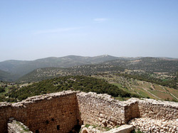 A view from Ajloun Castle