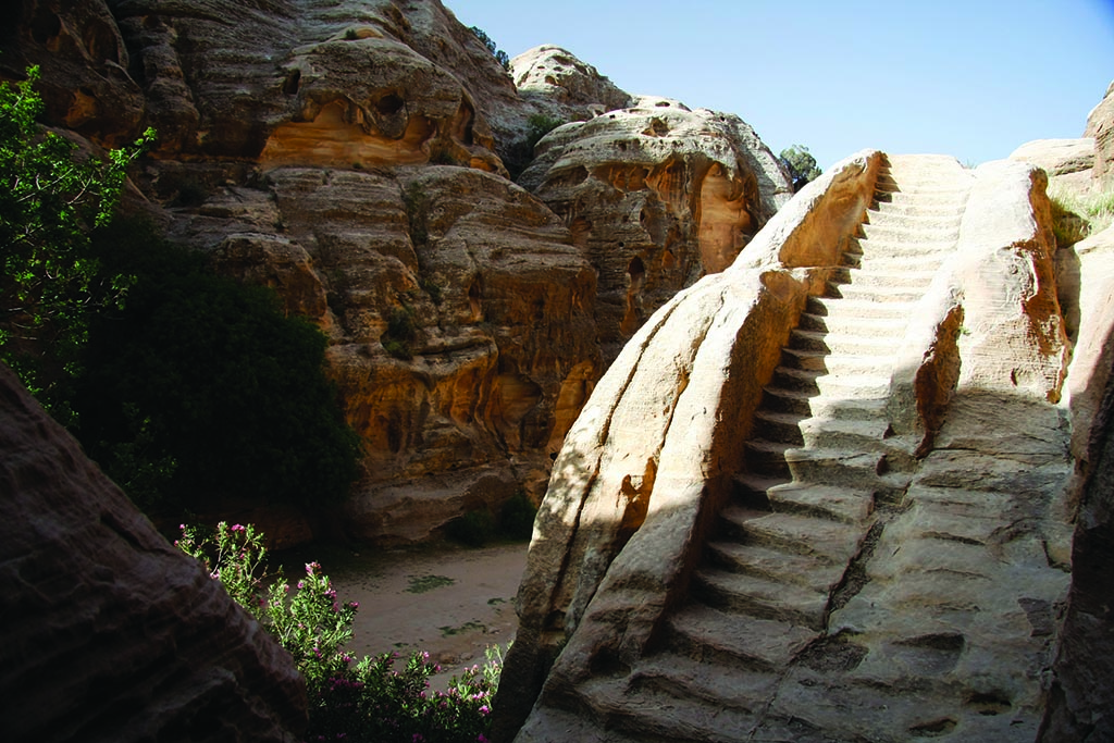 Stairs in Petra