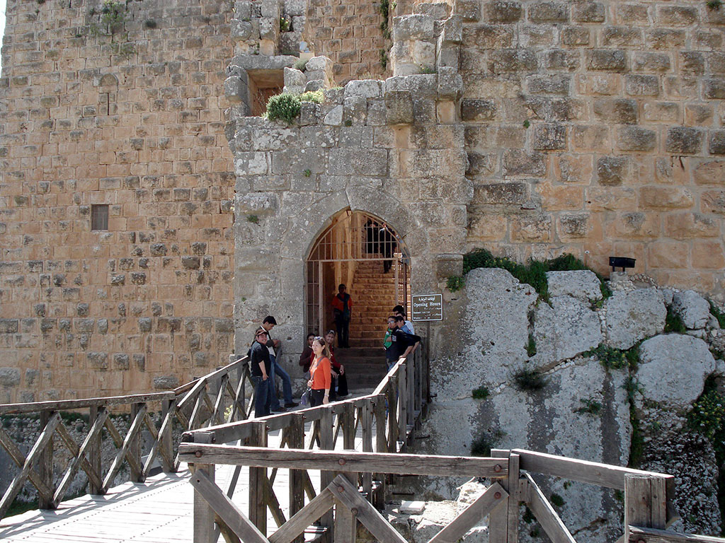 Bridge in Ajloun Castle