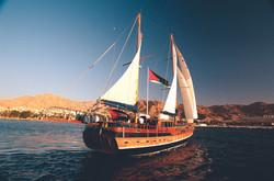 Boat in Aqaba