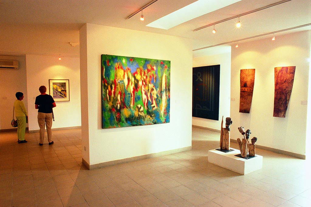 Art gallery in Amman