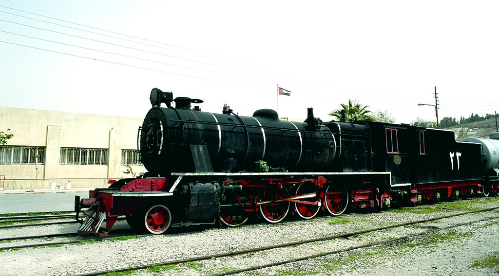 Hejaz Railway from Amman