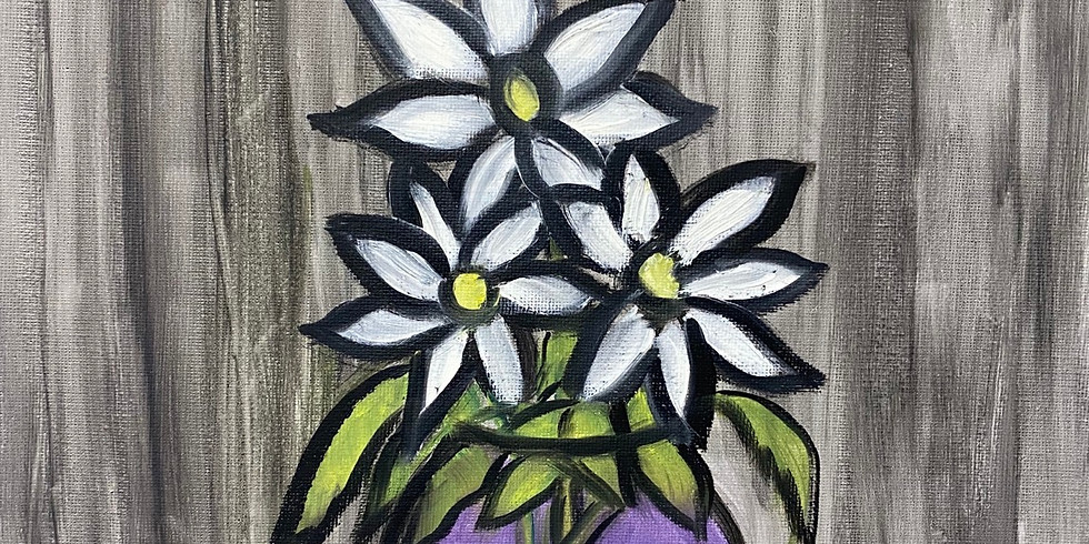 May Flowers  - Online Painting Party