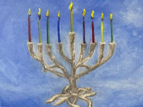 Menorah - Tree of Life